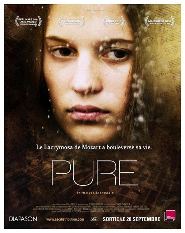 PURE, (aka TILL DET SOM AR VACKERT), French poster, Alicia Vikander, 2009. ©Nordic Film/Courtesy