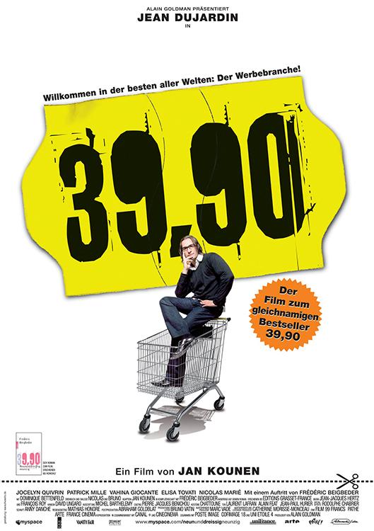 99 francs 39 90 jean dujardin jan kounen tv tipp for Jean dujardin 99 francs streaming