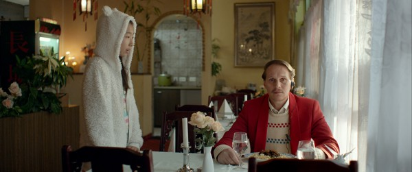 ALOYS by Tobias Noelle / Georg Friedrich as Aloys, Yufei Li as Yen Lee ©Hugofilm / Simon Guy Faessler