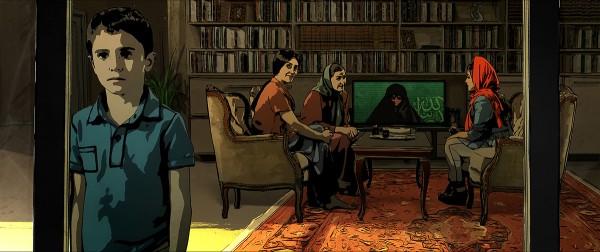 Pari and Elias visit Sara