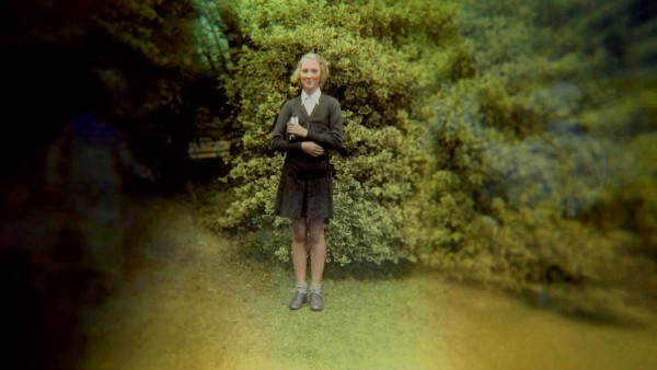 Bournemouth, England - A young Jane Goodall poses for a picture in her school uniform. The feature documentary JANE will be released in select theaters October 2017. (Jane Goodall Institute)