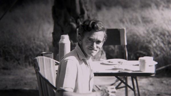 Gombe, Tanzania - Hugo van Lawick poses with a smile. (Jane Goodall Institute)