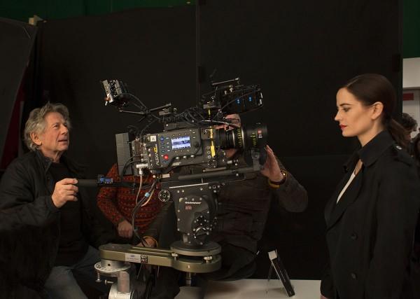 Regisseur Roman Polanski inszeniert Hauptdarstellerin Eva Green f¸r den Thriller NACH EINER WAHREN GESCHICHTE.